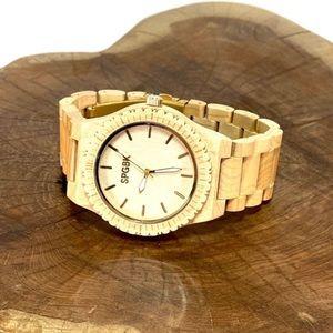 SPGBK Men's Wood Watch